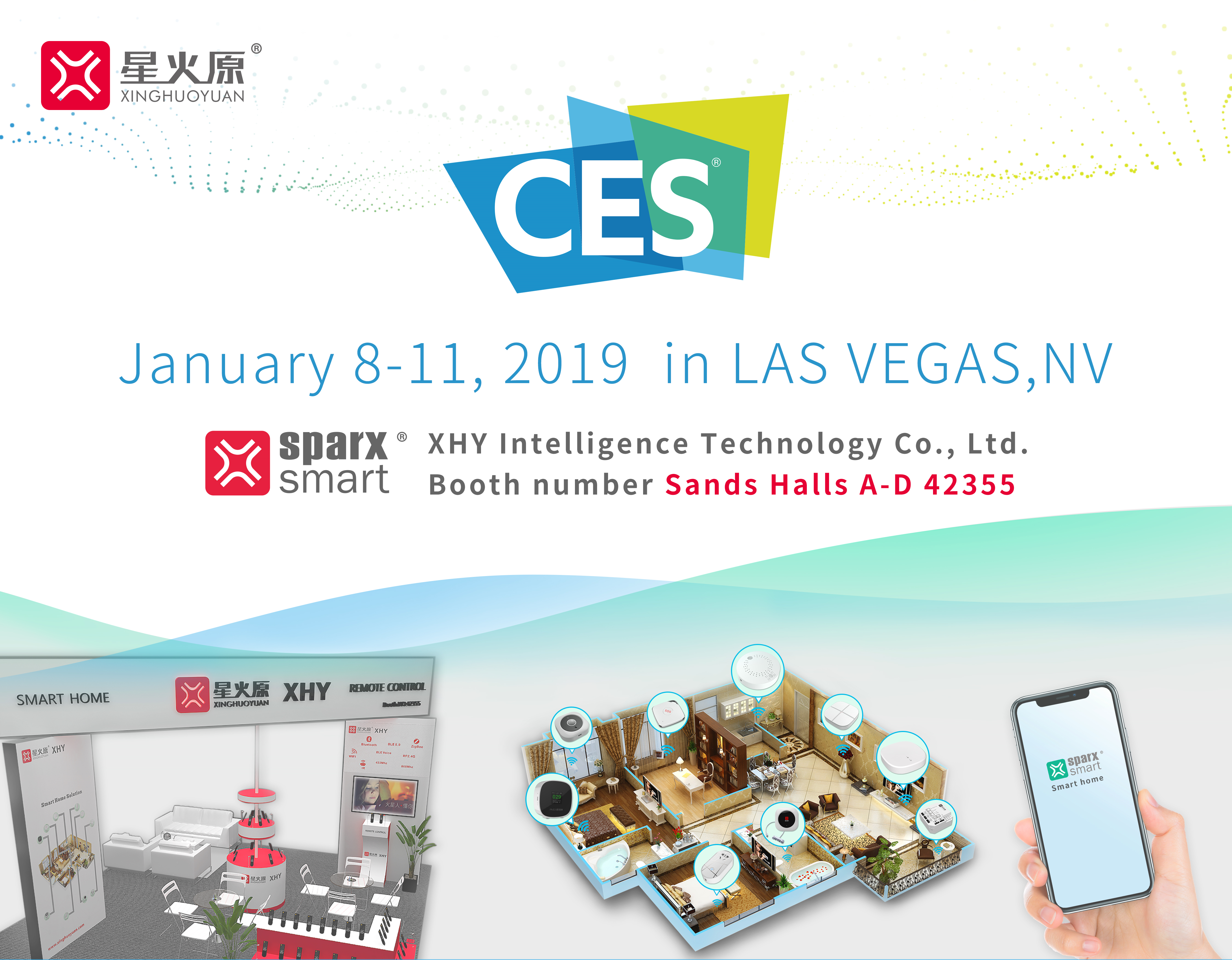 2019 CES invitation-By XHY